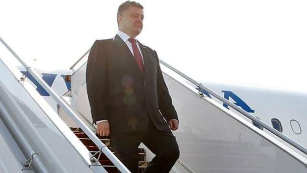 Петро Порошенко поїхав з робочим візитом до США