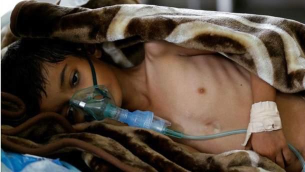 Вспышка холеры в Йемене