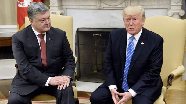 Итоги встречи Порошенко с Трампом