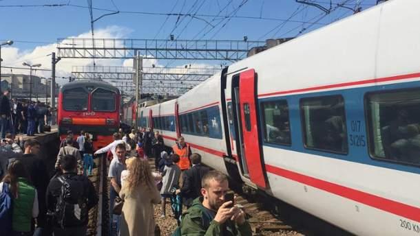 На Курском вокзале Москвы произошла авария