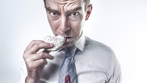 Чоловіки більш залежні від солодкого, ніж жінки