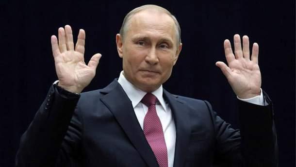 Известный карикатурист высмеял заявление Путина об отмене санкций против РФ