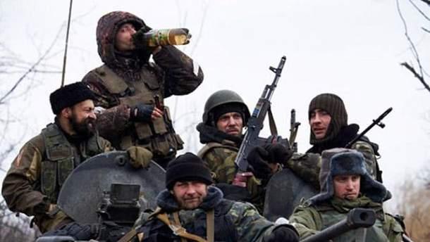 Российские боевики устроили между собой стрельбу