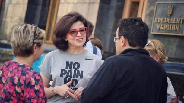 Оксана Сыроид объявила голодовку