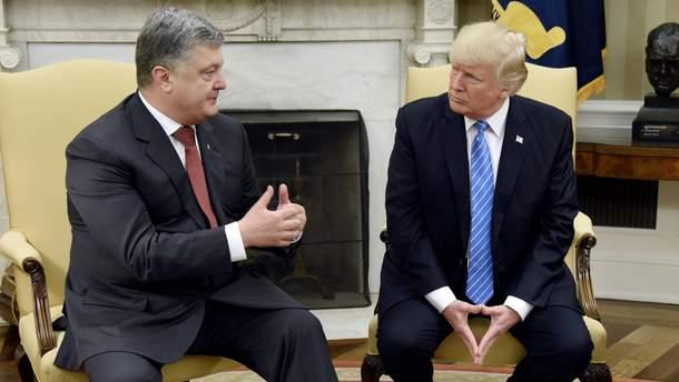 Зутріч Петра Порошенка та Дональда Трампа