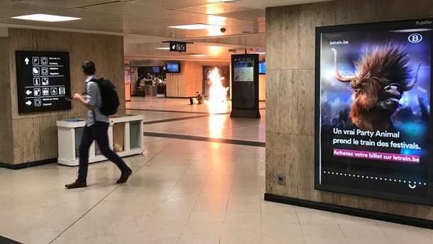 Вибух на центральному вокзалі у Брюсселі