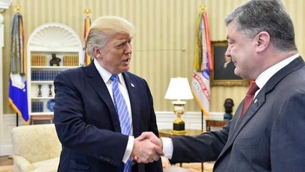 Порошенко встретился с Дональдом Трампом