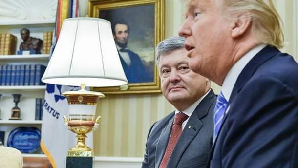 Встреча Порошенко с Трампом: об эффективности говорить еще рано
