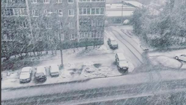 Снег в России выпал прямо посреди июня