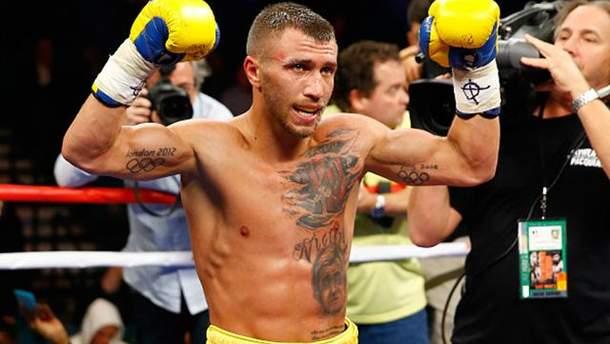 Василь Ломаченко став одним із найкращих боксерів світу