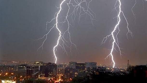 Погода в Україні: в деяких областях прогнозуються грози та шквали