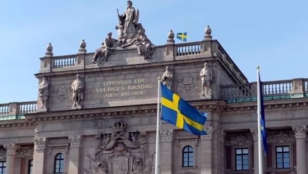 Власть Швеции вызвал посла России после инцидента с истребителем
