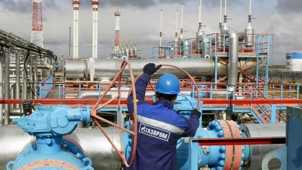 Поставки російського газу в Польщу (Ілюстрація)