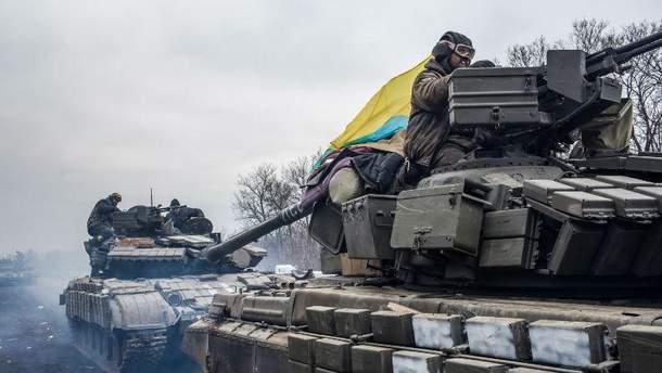 Українські військові на Донбасі, Авдіївка, 2017