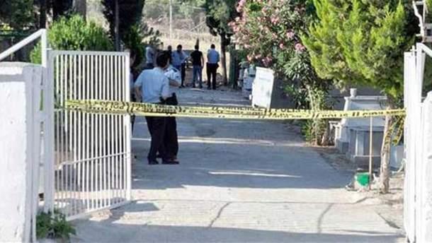 Место взрыва в Турции