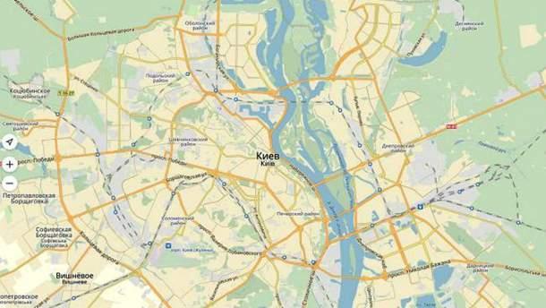 """""""Яндекс.Карты"""" заработали в Украине без VPN"""