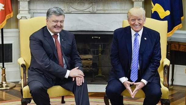 Як Трамп використав зустріч з Порошенком