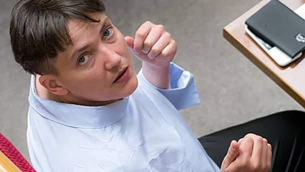 Савченко здивувала новим іміджем