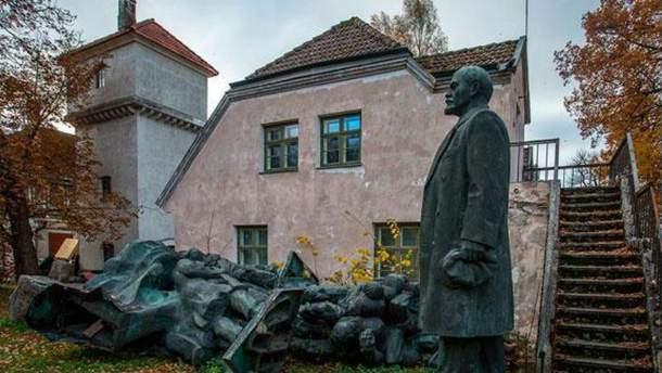 Снос памятников времен коммунизма