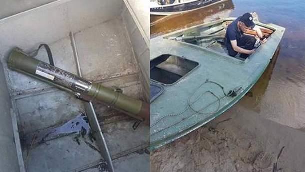 На Київщині затримано правопорушників зі зброєю