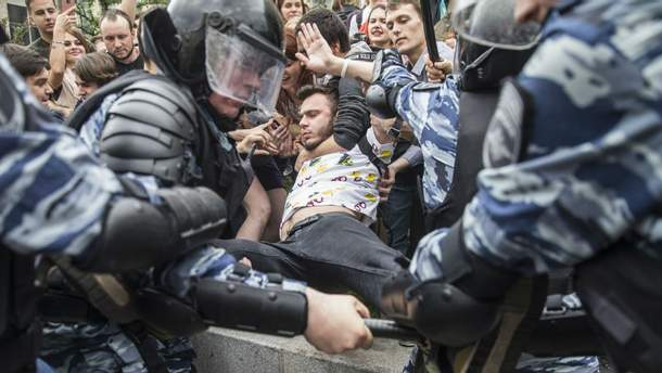 Митинг в Москве 12 июня