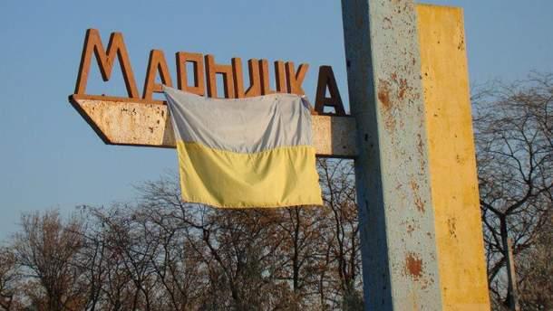 Боевики обстреляли Марьинку