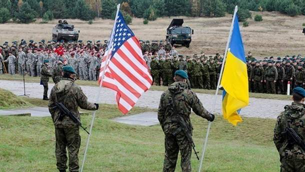 Военные США и Украины