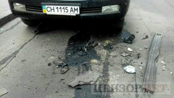 У Києві підірвали джип