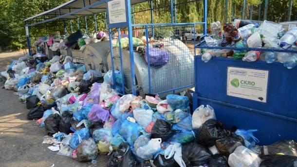 Львов начинают очищать от мусора
