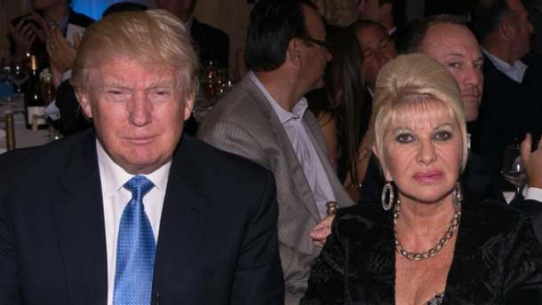 Івана була першою дружиною Дональда Трампа