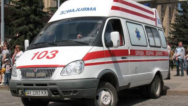 Воин АТО упал с 9 этажа на улице Бучмы в Киеве