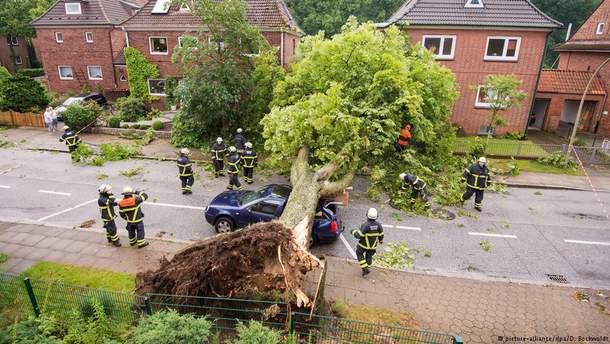 Негода в Німеччині