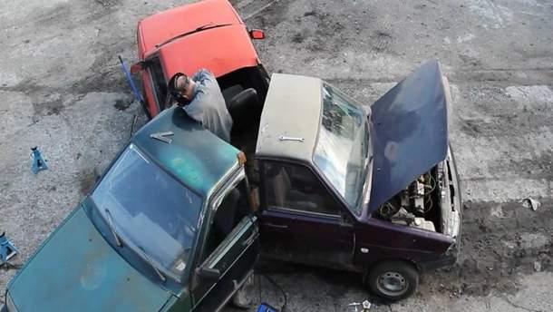 Спиннер из машин попытались создать в России