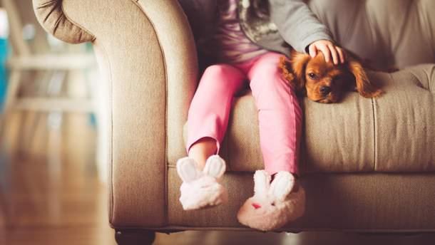 Собаки положительно влияют на здоровье детей