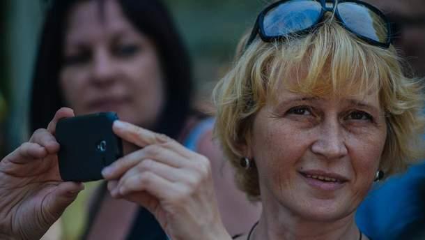 Активистка Светлана Пидпала