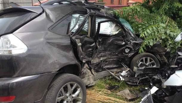 Аварія біля Вінниці