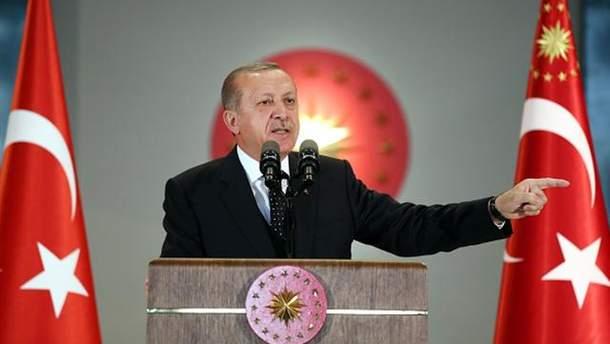 Эрдоган потерял сознание в мечети