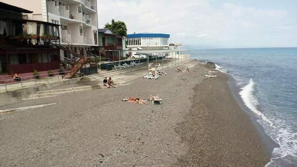 Туристичний сезон в Криму: порожні пляжі