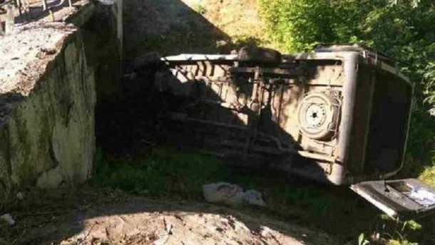 Авария на Луганщине