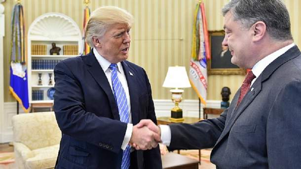 Порошенко та Трамп