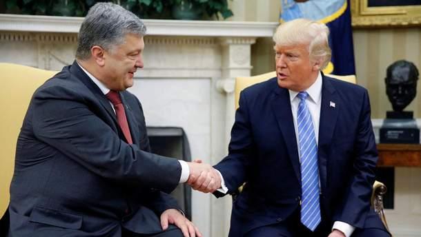 Зустріч Порошенка та Трампа в США
