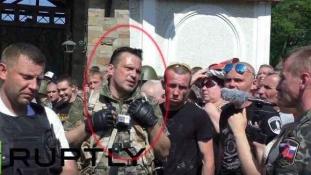 Российские силовики задержали боевика