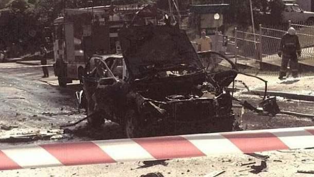 Від вибуху авто у Києві загинув Максим Шаповал: хто може стояти за інцидентом