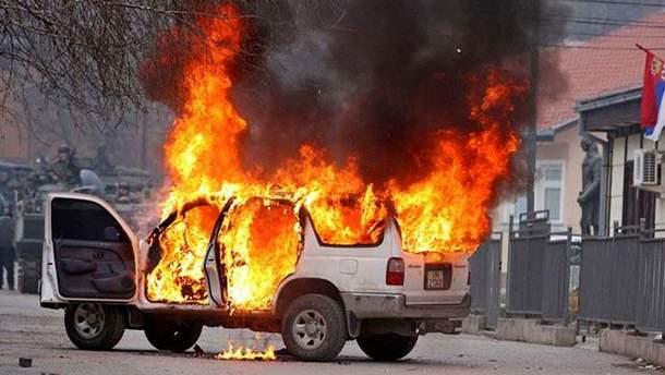 В Луганске взорвалось авто с майором ВС России