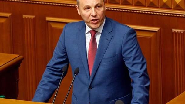 Парубий заявил об угрозе полномасштабного вторжения России в Украину