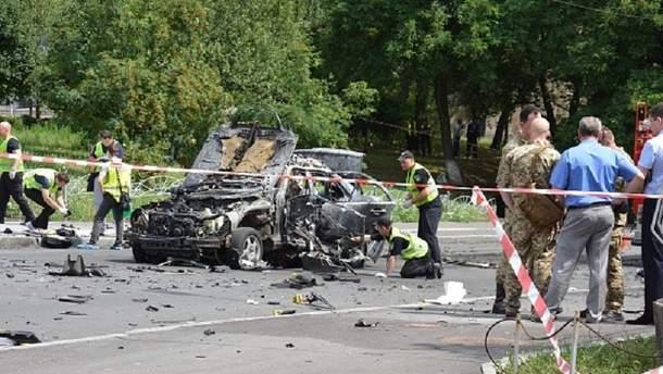 Вибух авто у Києві