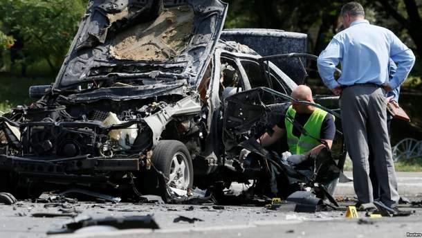 Полковник Максим Шаповал погиб в результате теракта в Киеве