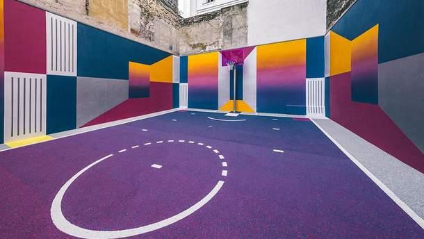 Баскетбольний майданчик в Парижі