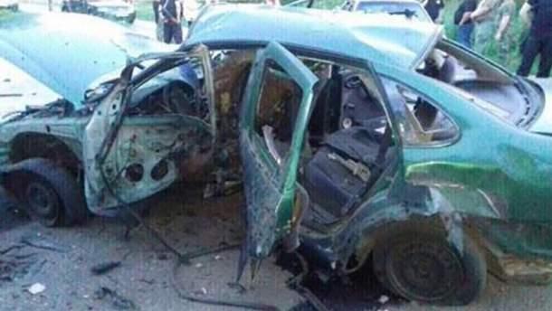 Подрыв авто СБУ в Донецкой области квалифицировали как теракт