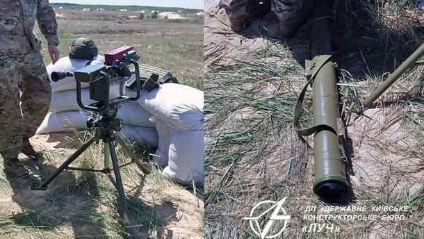 """Військові випробували новітній ракетний комплекс """"Корсар"""""""
